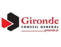Logo conseil général de la Gironde